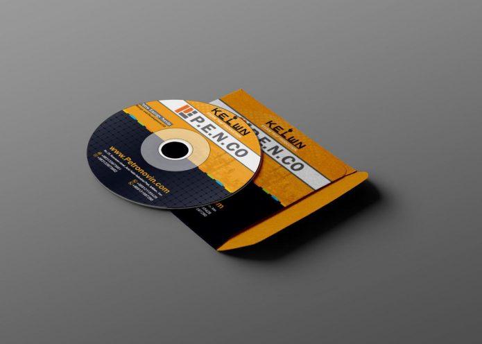 لیبل cd شرکت kelwn